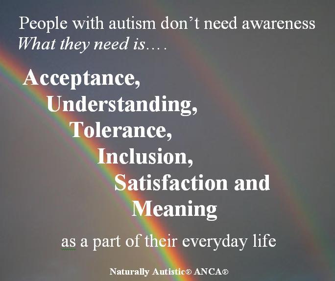 Inspirational Quotes About Positive: Autism Awareness Quotes. QuotesGram