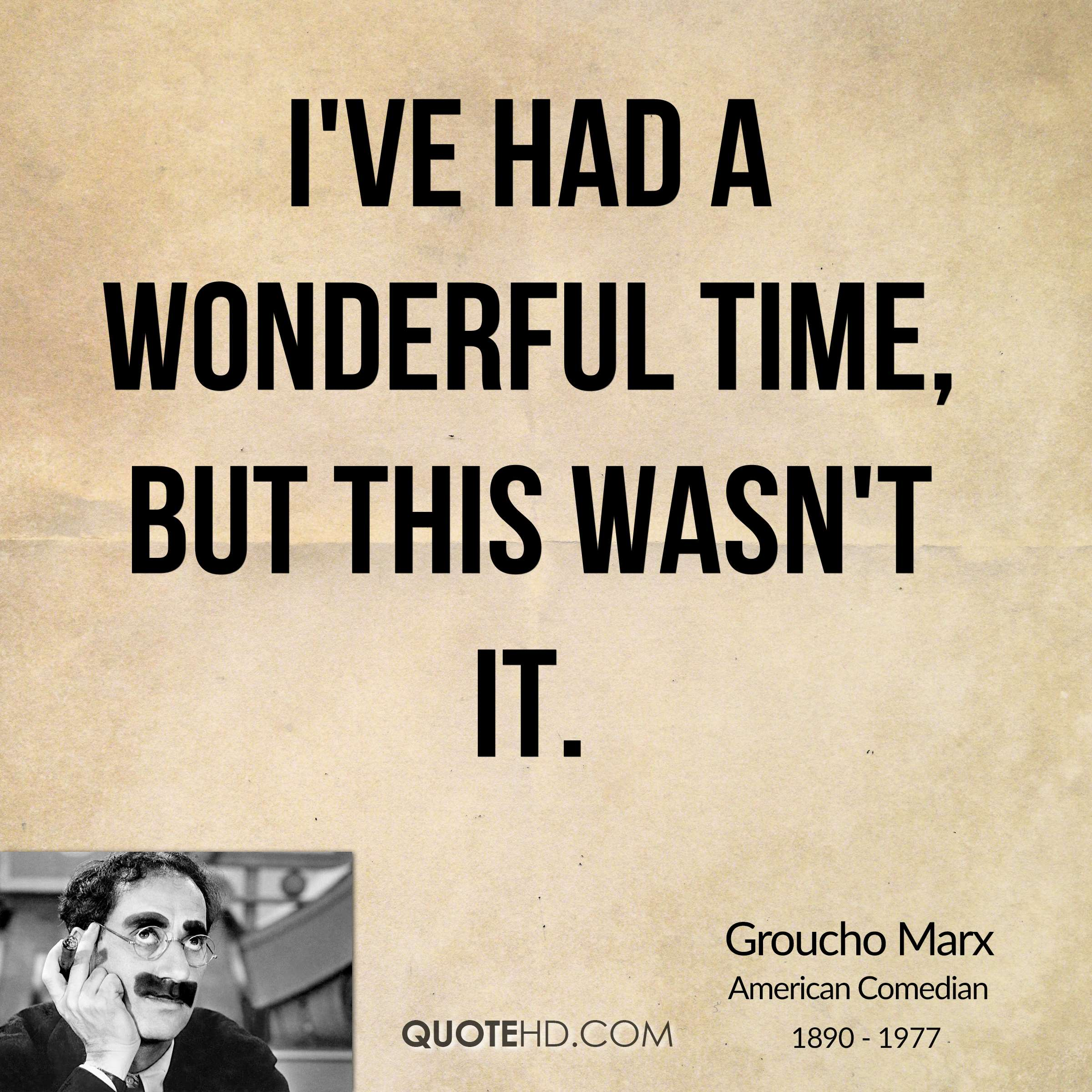 It S A Wonderful Life Quote In Book At End: Groucho Marx Quotes. QuotesGram