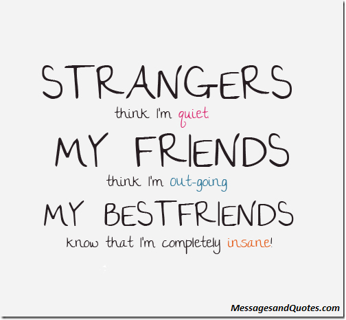 Short Cool Friendship Sayings : Quotes that describe yourself quotesgram