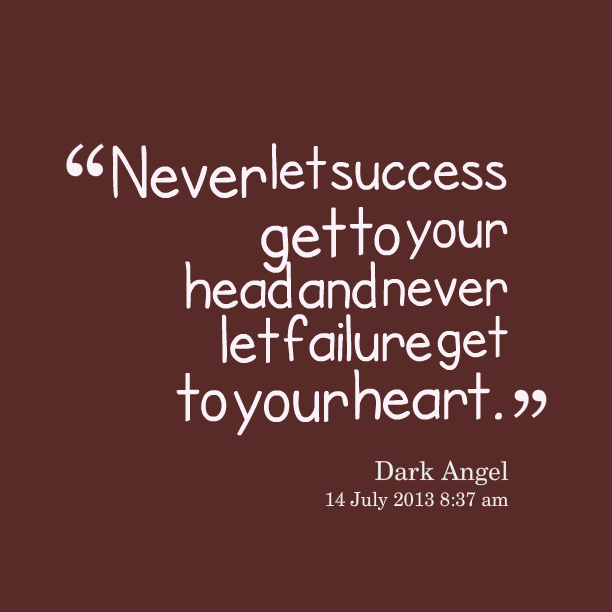 Inspirational Quotes About Failure: Quotes About Getting Over Heartbreak. QuotesGram