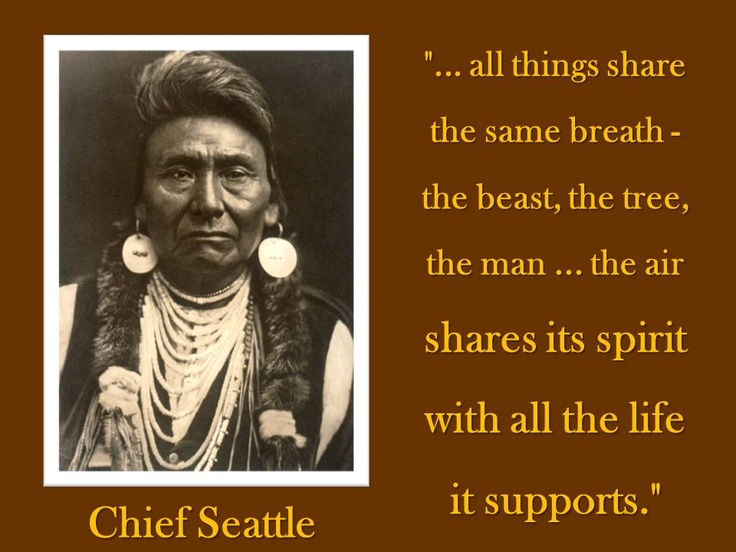 Letter from Chief Seattle to President Franklin Pierce