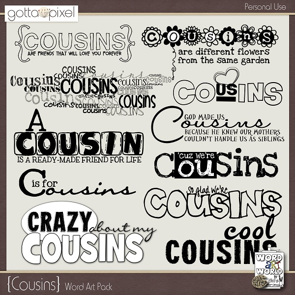 Inspirational Quotes For Cousins: Favorite Cousin Quotes. QuotesGram