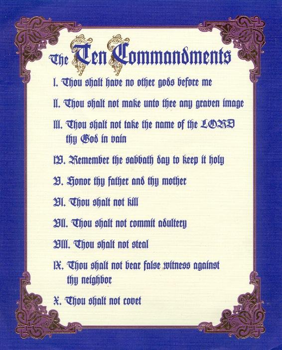 The Ten Commandments Movie Quotes. QuotesGram