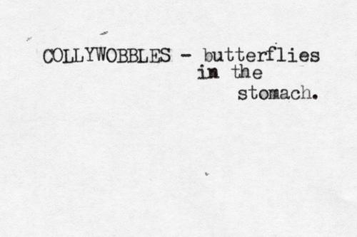 Tummy butterflies illicit dating