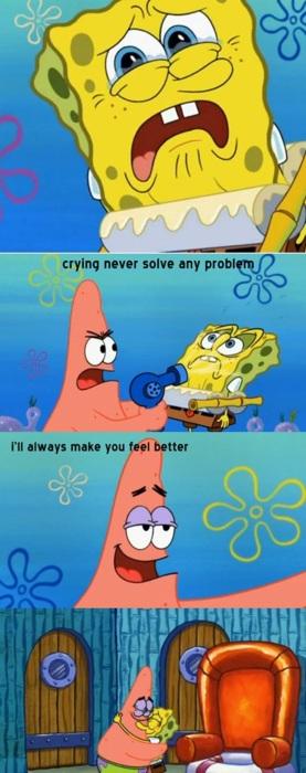 Spongebob And Patrick Friendship Quotes. QuotesGram - photo #48