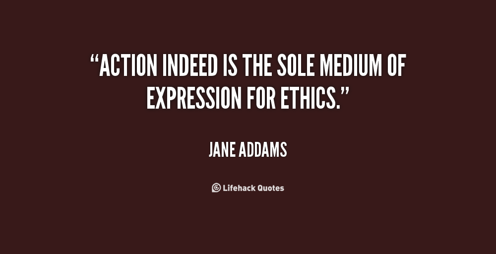 jane addams speech Jane addams: why women should vote, 1915 december 7, 2011 by vocabulary lists (new york, ny) the speech act of continuing a conversational exchange.