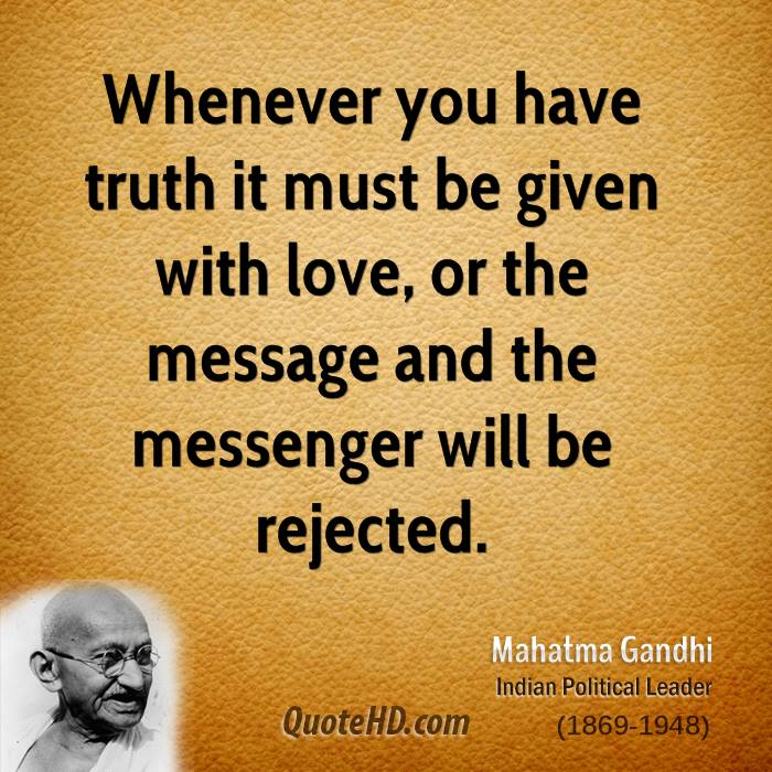 Top Gandhi Quotes Truth. QuotesGram