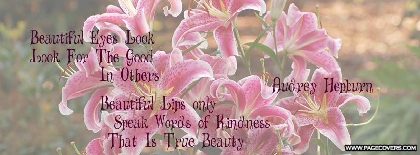 Beautiful Facebook Covers Quotes. QuotesGram