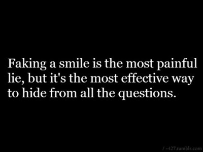 A Smile Can Hide Quotes. QuotesGram