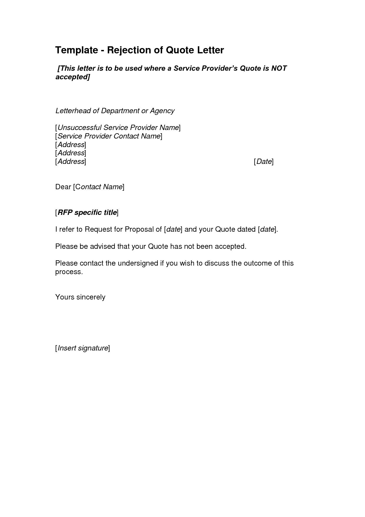 regret letter informatin for letter interview regret letter format job rejection letter interview