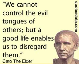 Cato The Elder Quotes. QuotesGram