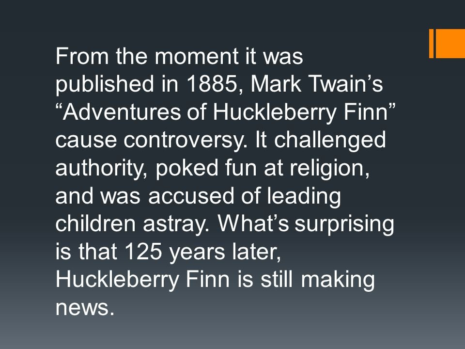 identity in huckleberry finn Some of mark twain's most famous works include adventures of huckleberry  finn, the adventures of tom sawyer and puddn'head wilson.