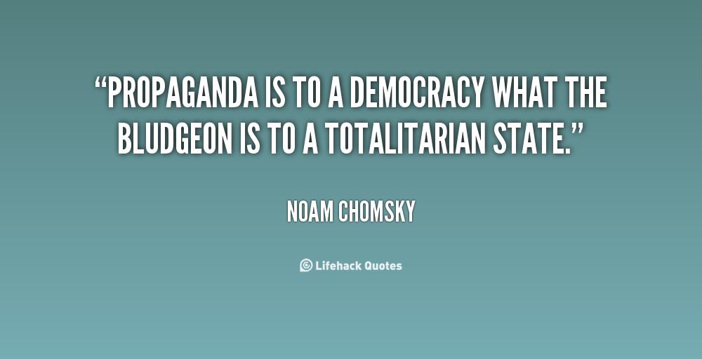 Noam Chomsky On Propaganda Quotes. QuotesGram