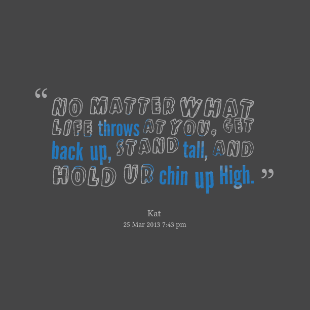 Quotes On Falling And Getting Back Up: Get Back Up Quotes. QuotesGram