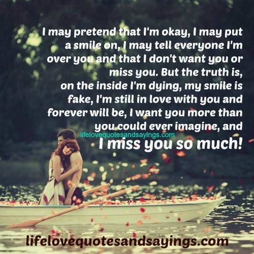 I Am Missing You Quotes. QuotesGram