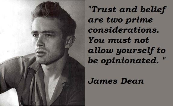 Famous Quotes By James Dean. QuotesGram