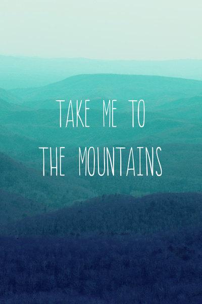 blue ridge mountain inspirational quotes  quotesgram