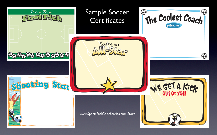 Soccer Award Quotes QuotesGram – Certificate Sayings