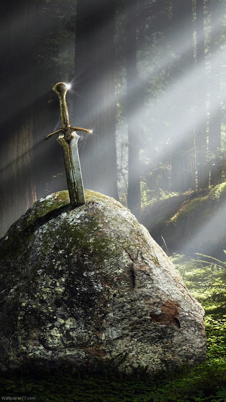 King arthur sword quotes