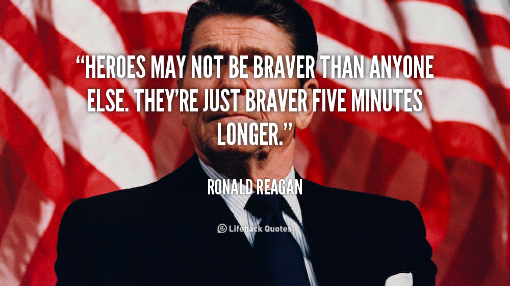 By Ronald Reagan Quotes About Heroes. QuotesGram