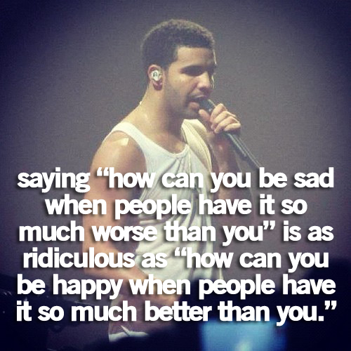 Sad Quotes About Depression: Sad Drake Quotes. QuotesGram