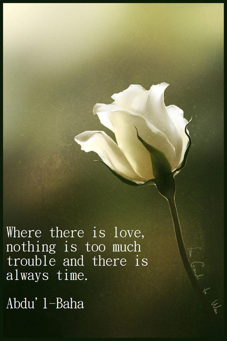 Bahai Quotes On Love  Quotesgram