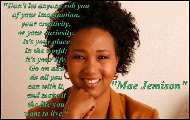 Mae Jemison Famous Quotes Quotesgram