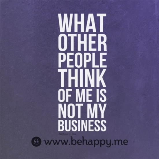Not Caring What Other People Think Quotes. QuotesGram