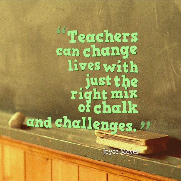 Value Of A Teacher Quotes. QuotesGram