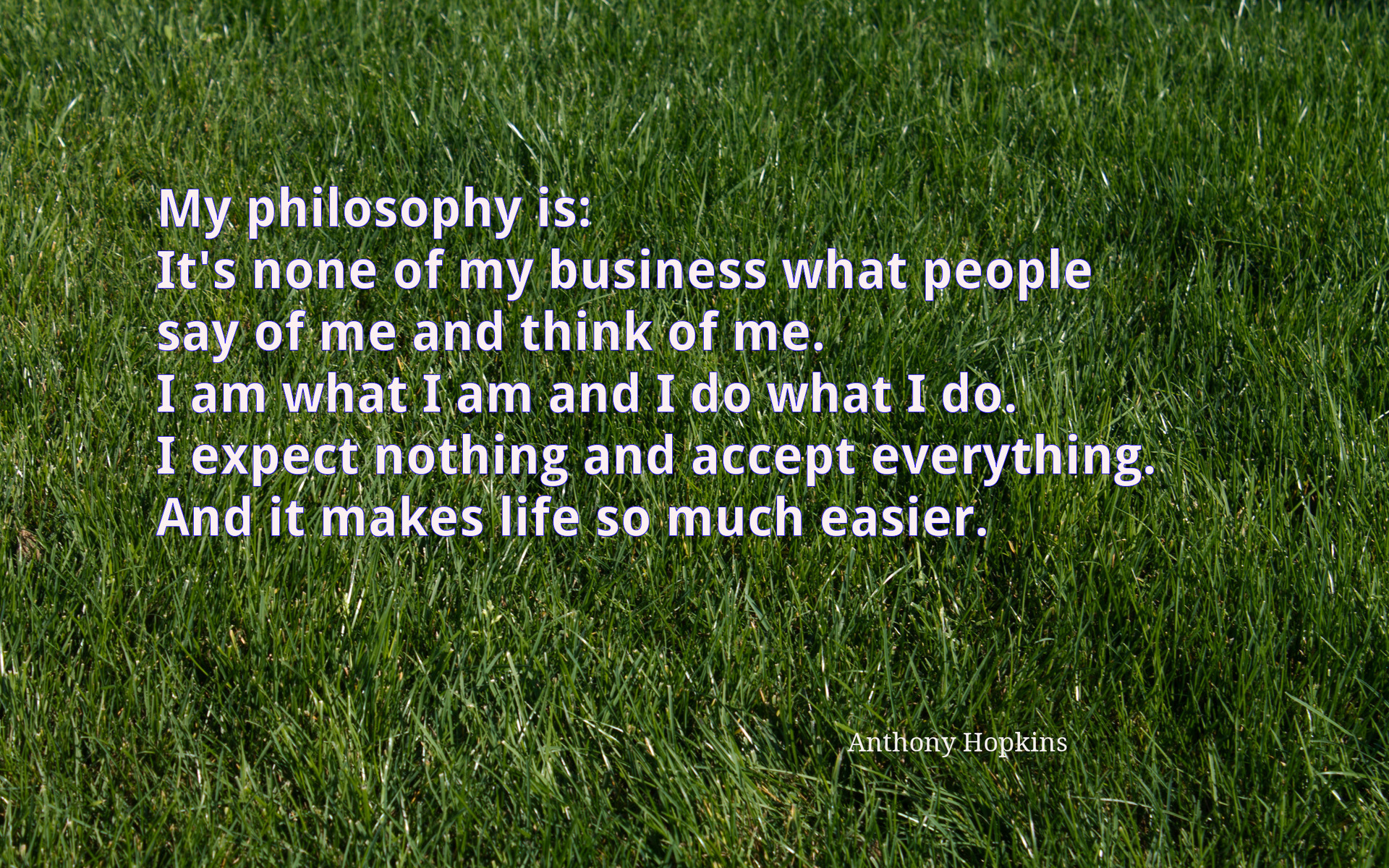 my philosophy in life To develop a personal philosophy, the essential elements are centered on beliefs and attitudes simply asked, what is your approach to living your life.