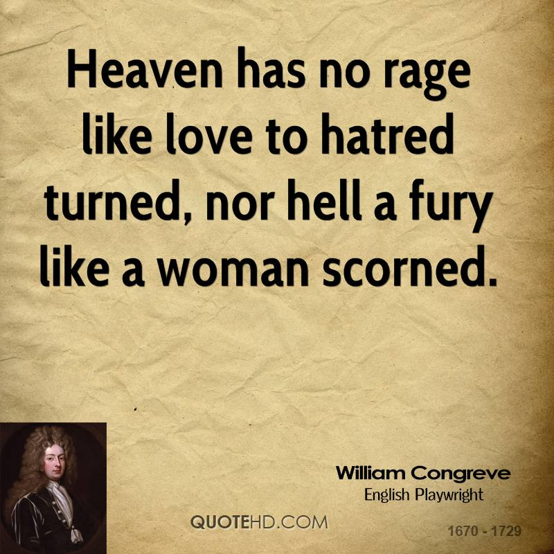 Quotes About Anger And Rage: Quotes About A Woman Scorned. QuotesGram