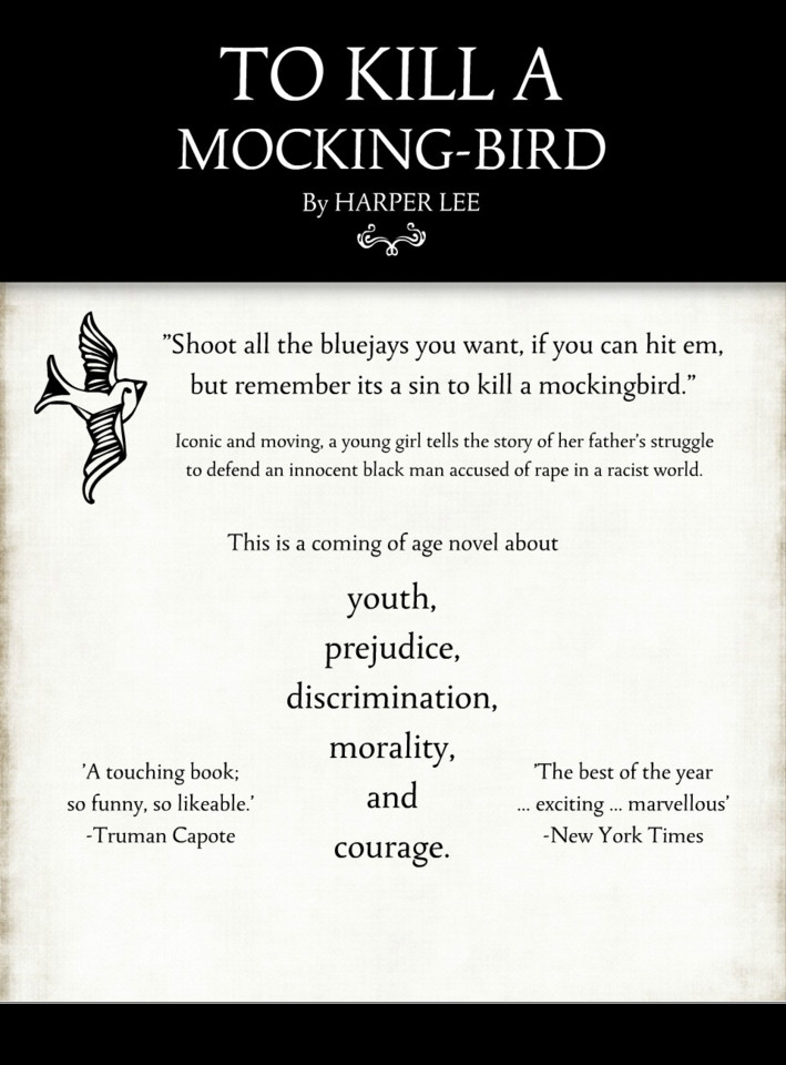 character analysis in to kill a mockingbird by harper lee