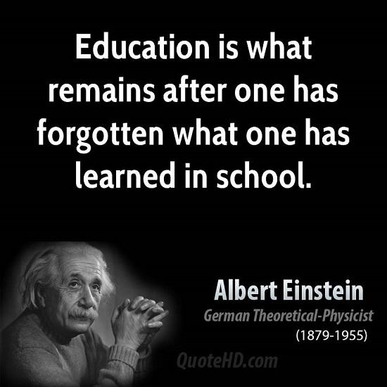 Albert Einstein Quotes About School. QuotesGram Albert Einstein Quotes About Education