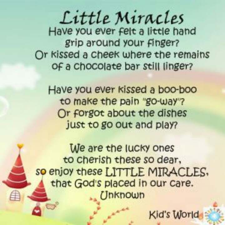 Miracle Baby Quotes: Little Miracle Quotes. QuotesGram