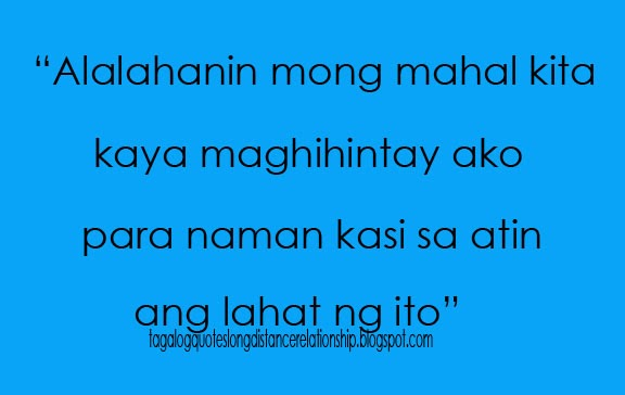 Cute Distance Love Quotes Tagalog