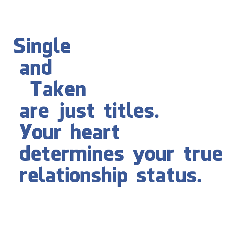 Quotes on relationship status