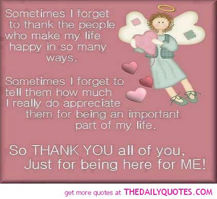 Friendship Quotes And Sayings Thank You. QuotesGram