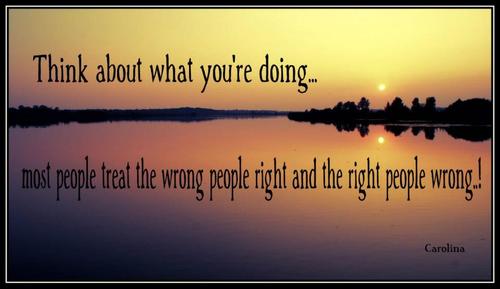 Treat People Right Quotes. QuotesGram