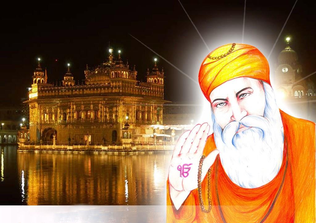 Completely Satisfied Birthday Wallpapers: Guru Nanak Dev Ji Quotes Thank You. QuotesGram