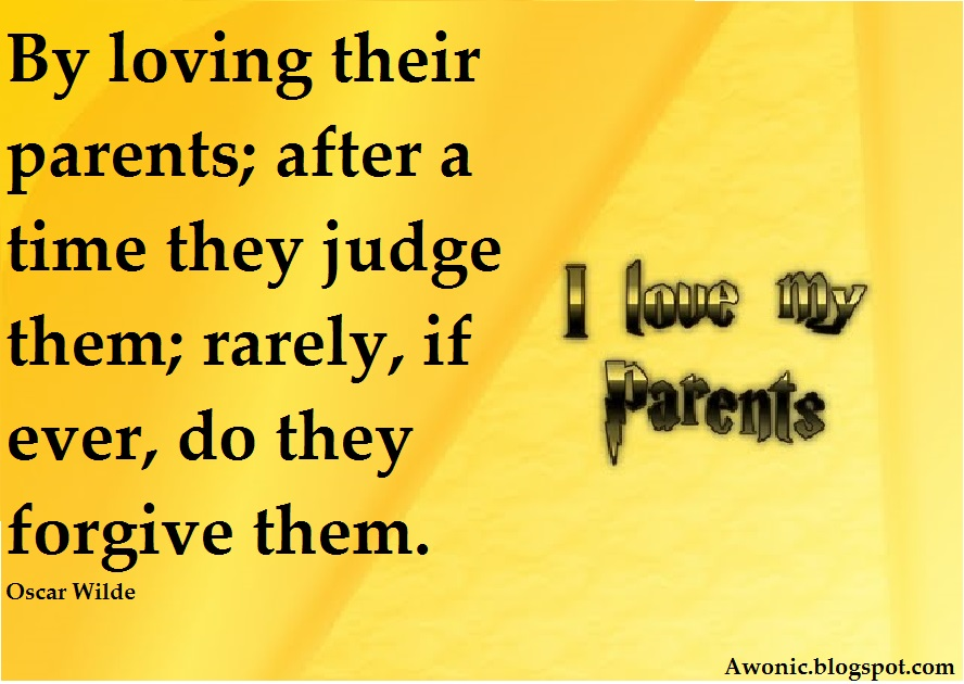 Quotes about parents love to their children