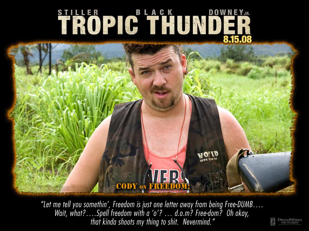 Tropic Thunder Quotes. QuotesGram