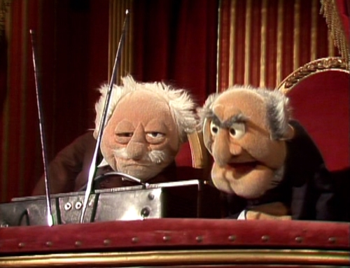 Old men balcony muppets quotes quotesgram for Balcony quotes
