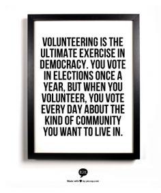Community Volunteer Quotes. QuotesGram