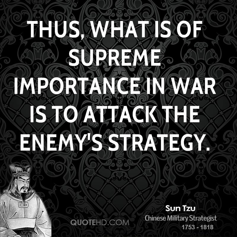 Best Sun Tzu Quotes: Sun Tzu Quotes On War. QuotesGram