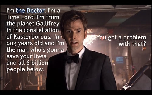 Well Who Tenth Doctor Quotes. QuotesGram