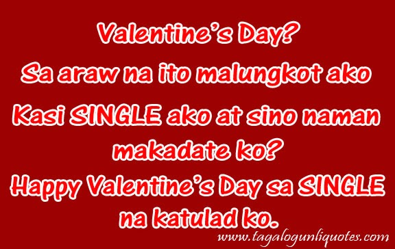 Single sayings tagalog