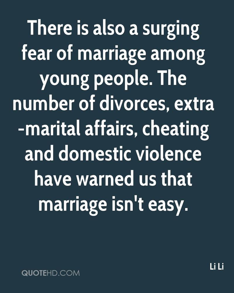 Quotes About Young Marriage: Quotes About Fear Of Marriage. QuotesGram