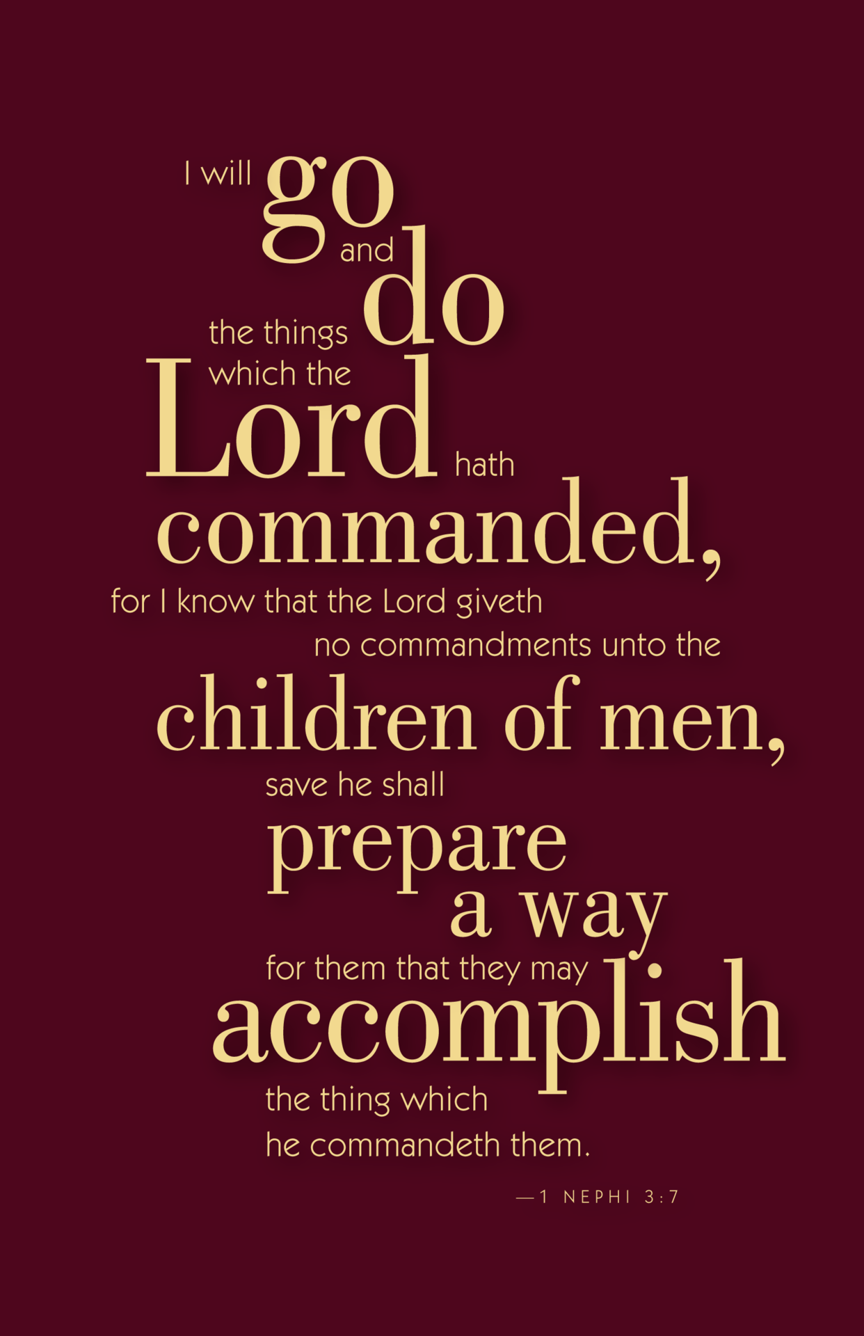 Service scripture for missionaries What Does