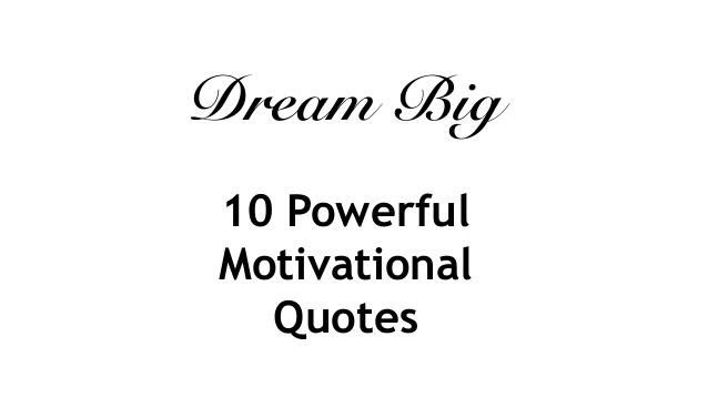 dream motivational quotes quotesgram