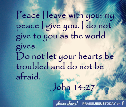 Peace And Love Images And Quotes: Jesus Quotes About Peace. QuotesGram